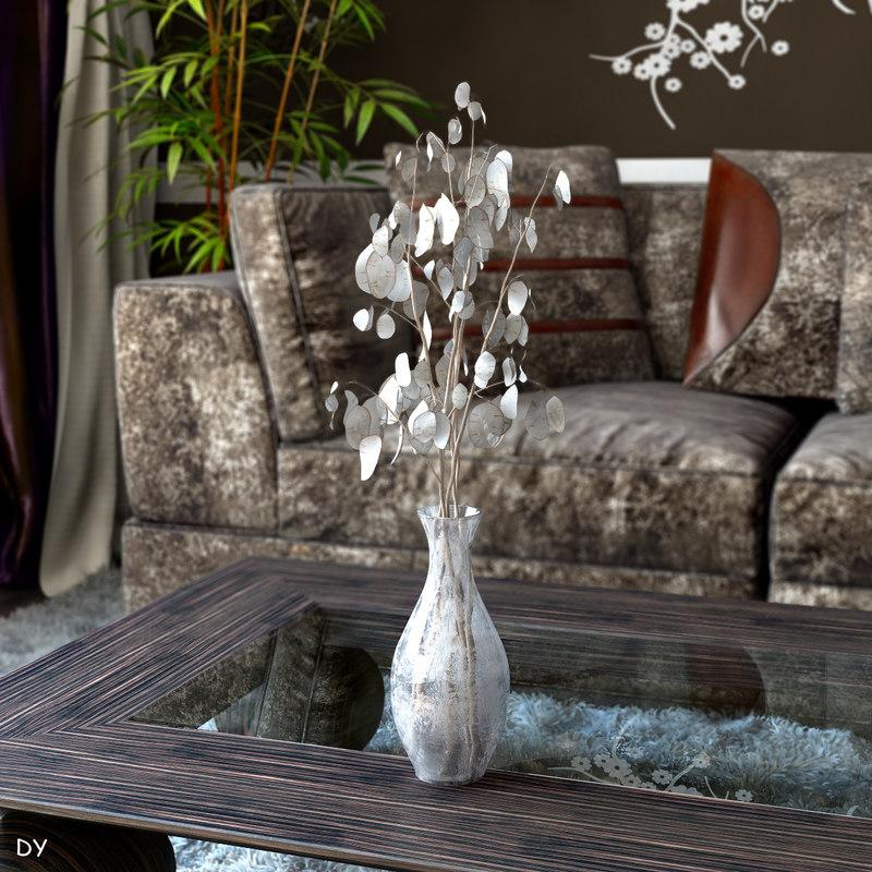 interior plant 3d max
