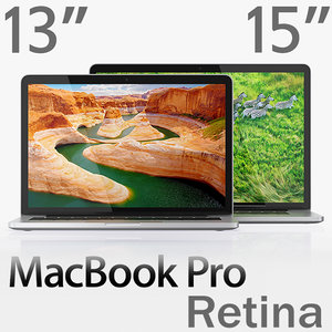 3d macbook pro retina display