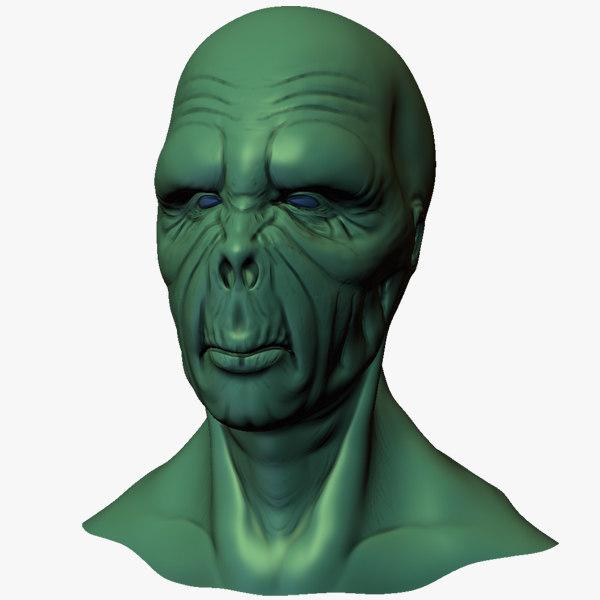 alien head 3ds free