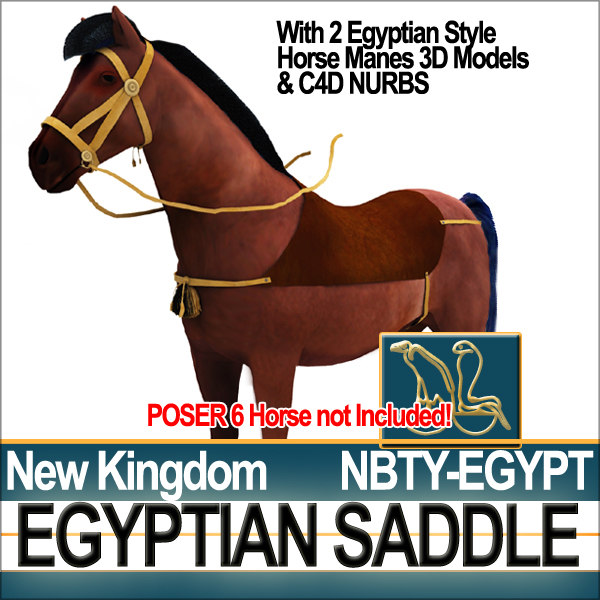 ancient egypt horse new 3d 3ds