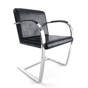 brno flat bar chair 3d max