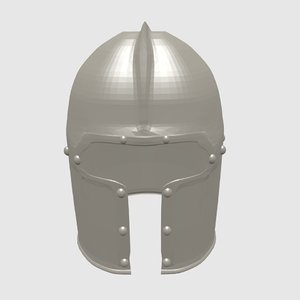 free 3ds model medieval helmet