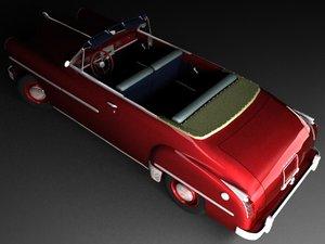 dodge coronet convertible 3d max