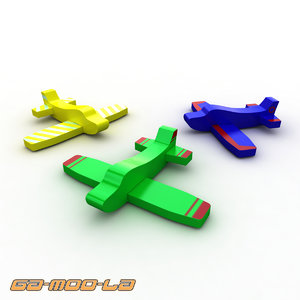 3d model airplanes