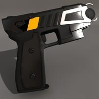 paralyzer 3d model