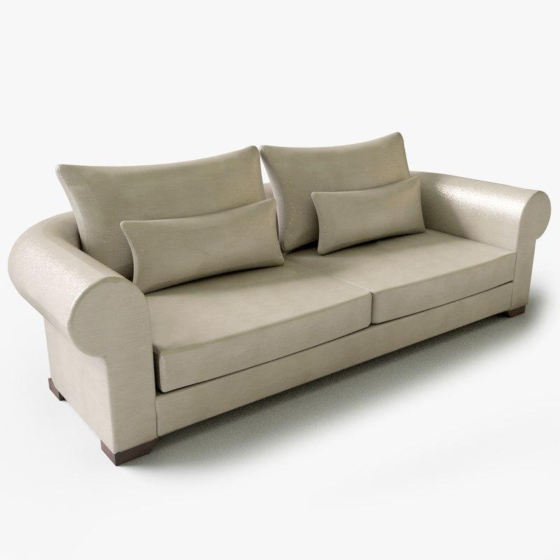 polantis seat couch 03 3d 3ds