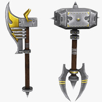 melee weapons 3ds