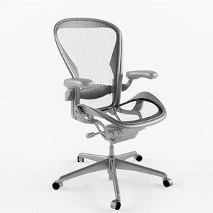 aeron chair 3d model
