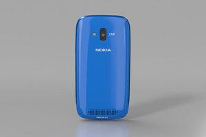 3d nokia lumia 610