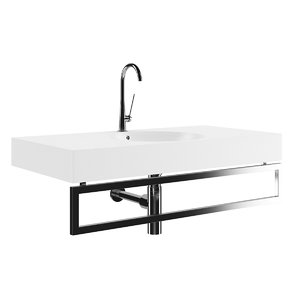 square batroom sink max