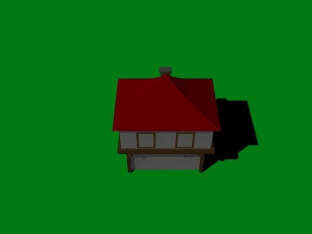 3d safranbolu house