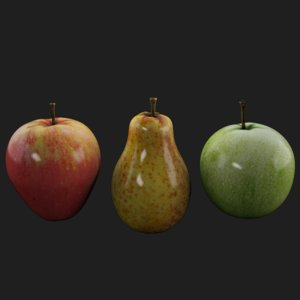 apple pear fruit