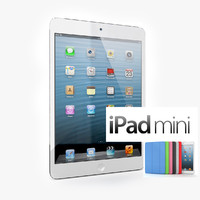 new apple ipad mini 3d model