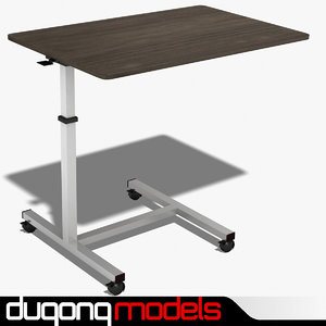 3d model dugm04 bed table