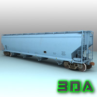 max c214 covered hopper cargo