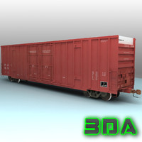 Railroad boxcar A606 CRLE