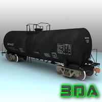 t104 tank car rail 3d model