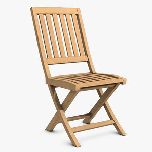 wooden chair wood 3d max