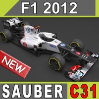 2012 Sauber C31