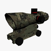 3d model trijicon acog