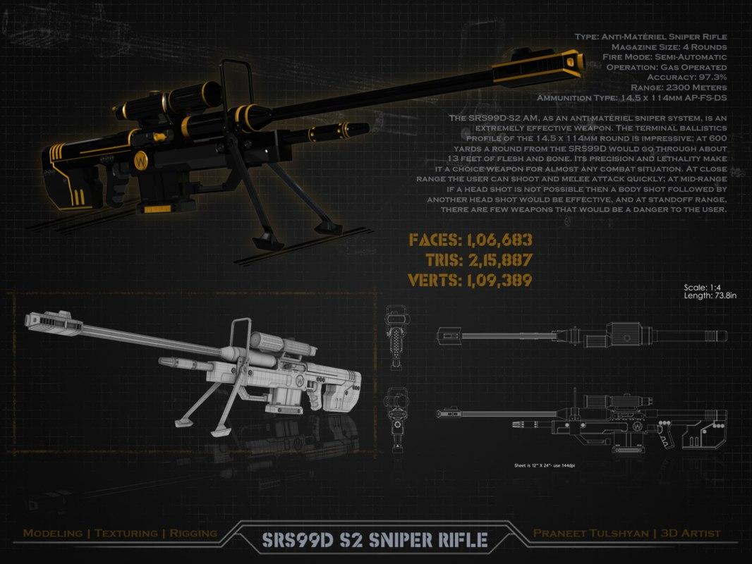 maya s2 sniper rifle