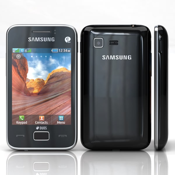 3d model of samsung star 3 duos