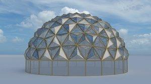 tesselation dome glass