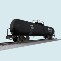Railroad / Train Car: Tank Car