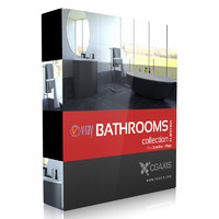 CGAxis Models Volume 22 Bathrooms VRay