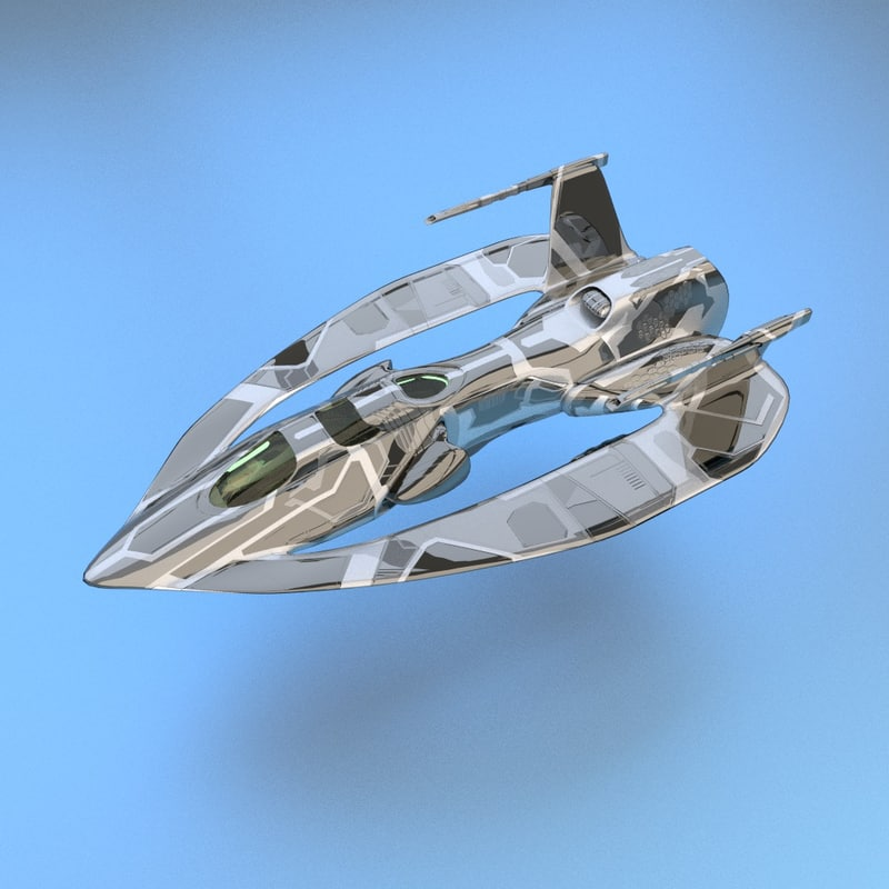 small fighter 3d blend