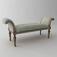 3d bench classical model