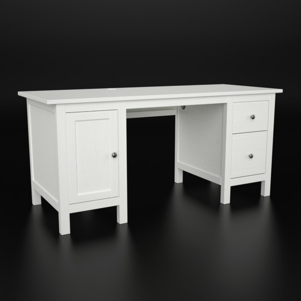 Ikea hemnes white tall corner desk hostgarcia - Desk for small spaces ikea ...