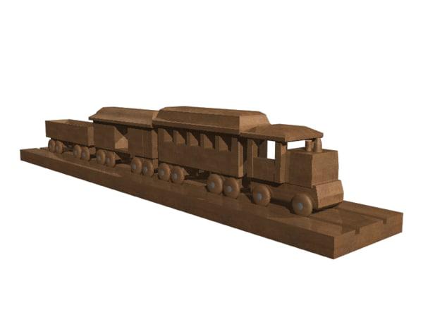 lwo en train track