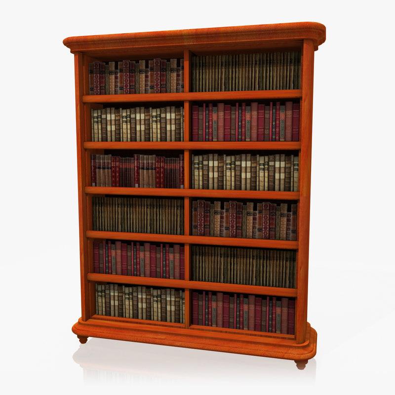 realistic bookshelf max