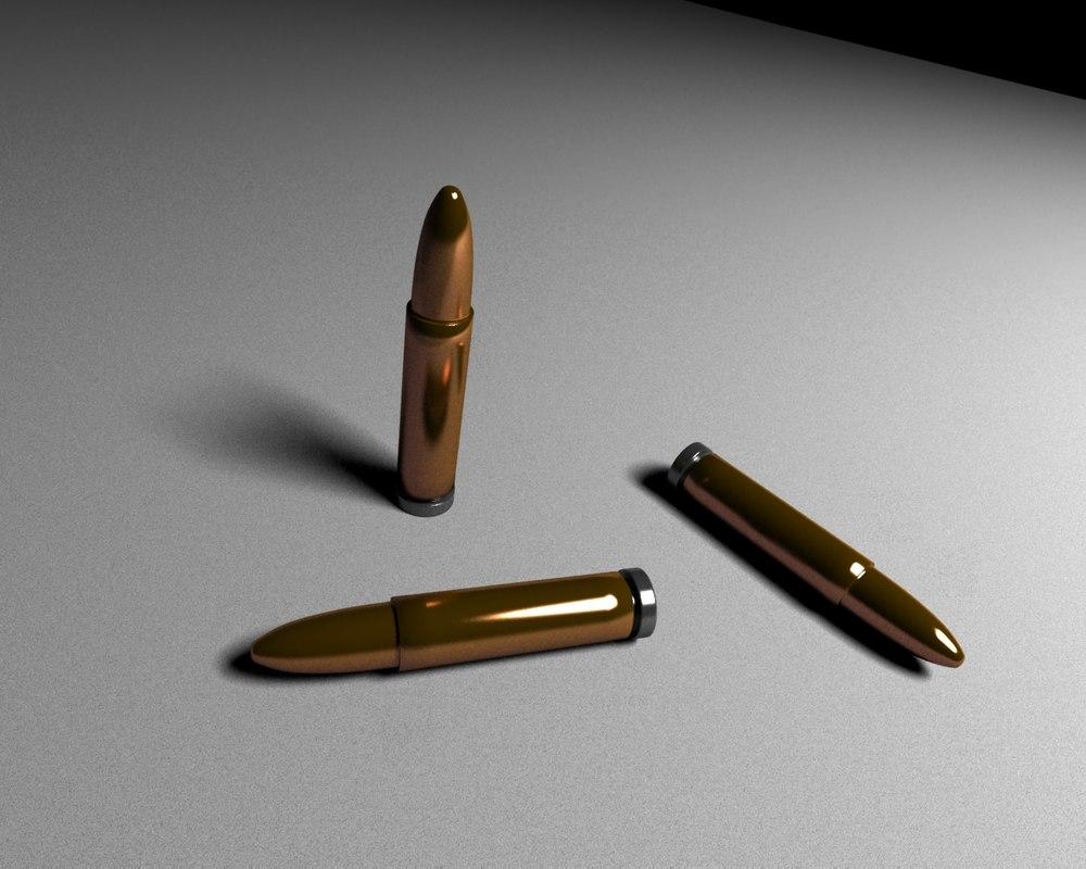 bullets 3d max