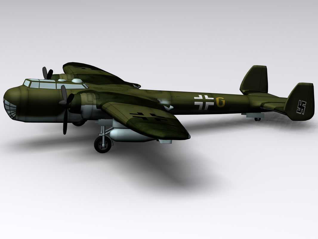 3d dornier 217e-2