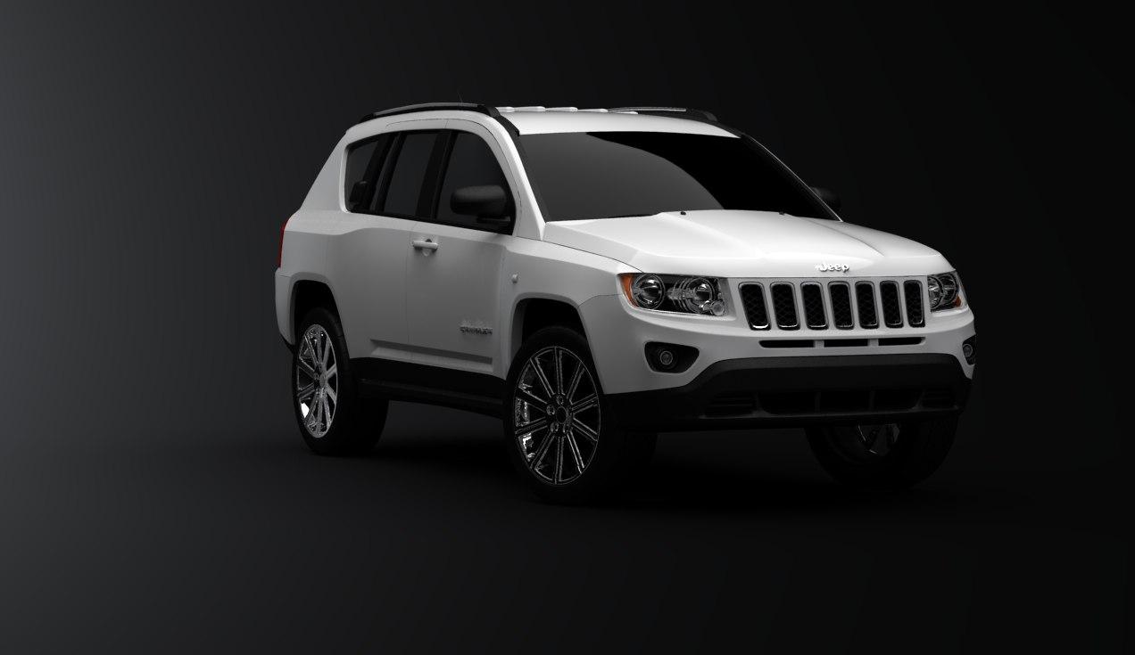 jeep compass 3d model