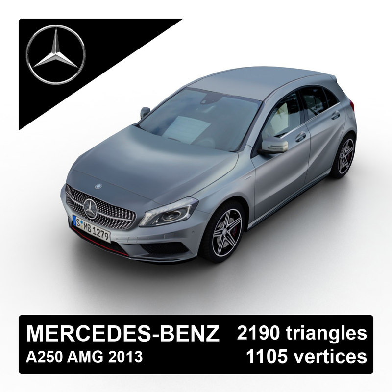 2013 mercedes-benz a250 amg obj