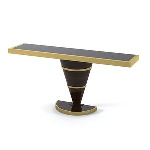 modern console table fbx
