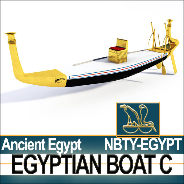 c4d ancient egypt boat c