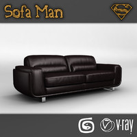 3d max oregon sofa