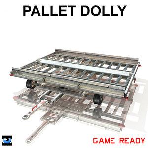 3d pallet dolly model