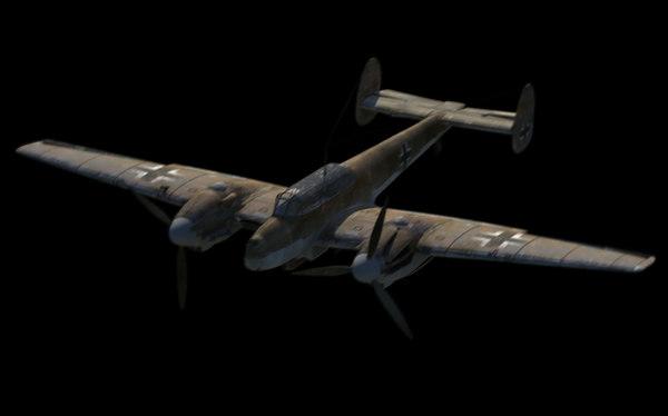 messerschmitt bf 110 3d ma
