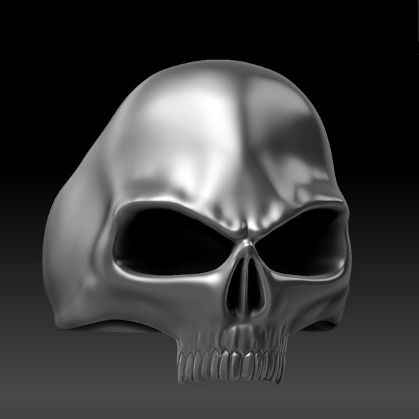 skull ring 3ds