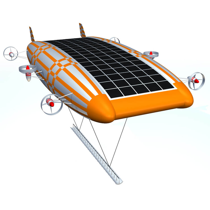 zeppelin solar c4d