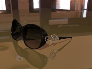 free gauss sunglasses 3d model