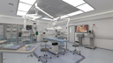 surgery room - complete 3d model