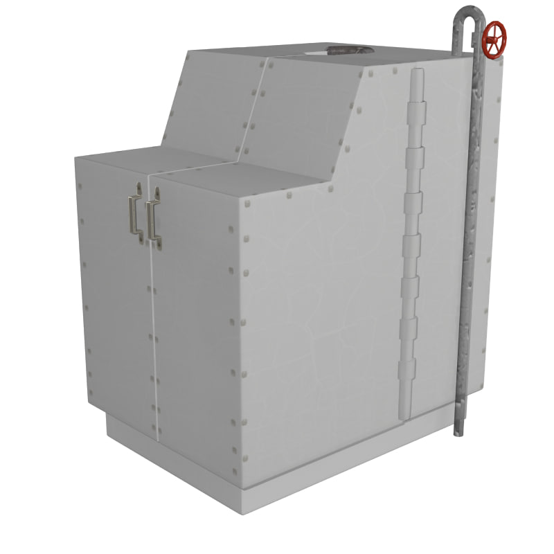 3d sweat box model