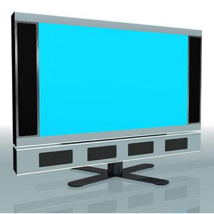 modern tv 3d model