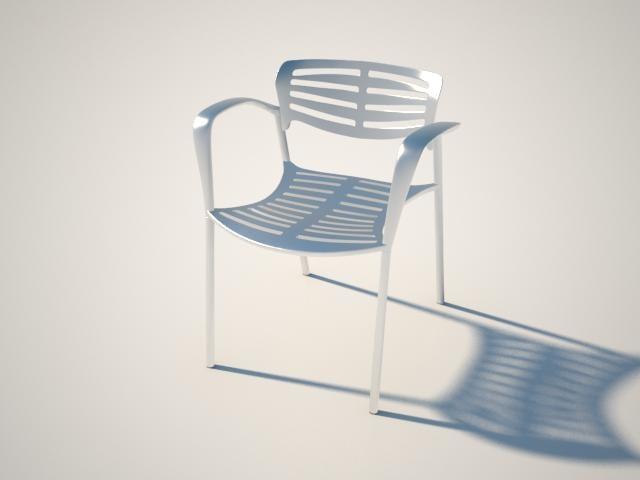 toledo chair 3d model